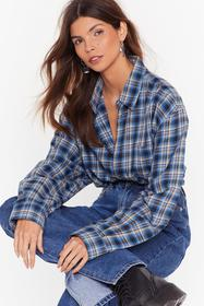 Nasty Gal Blue Nasty Gal Vintage Relaxed Don't Do
