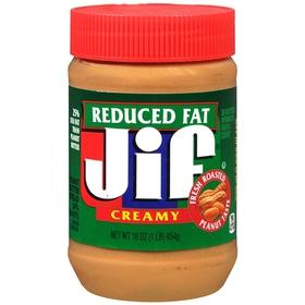 Jif Peanut Butter, Reduced Fat Creamy