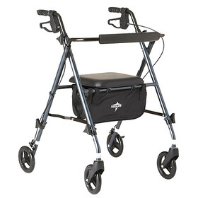 Medline Guardian Freedom Ultralight Rollator Smoke
