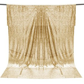 4x6ft Champagne Gold Sequins Backdrop Photography