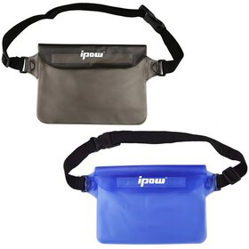Waterproof Pouch Bag Case with Waist Strap, IPOW 2