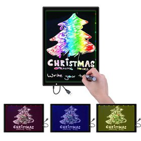 LED Writing LED Message Board, 2-in-1 Flashing Neo