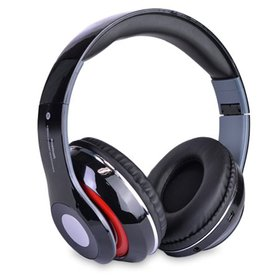 Bluetooth Rechargeable Over Ear Headset Foldable W