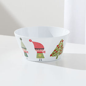 Crate Barrel Christmas Whimsy Melamine Holiday Bow
