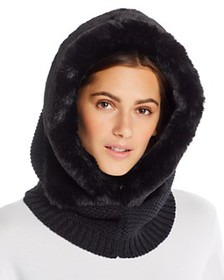 Echo - Faux-Fur Trim Balaclava