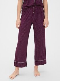 Ankle Flare Pants in Modal