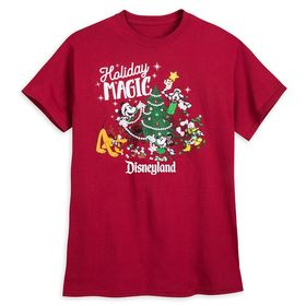 Disney Mickey Mouse and Friends Holiday T-Shirt fo