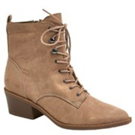 Womens Lace-Up Booties