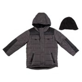ROTHSCHILD Boys Hooded Fleece Lined Puffer Coat Wi