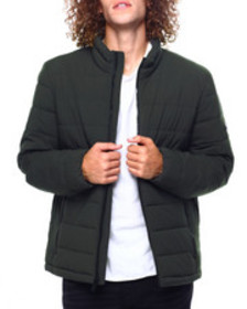 DKNY quilted puffer jacket