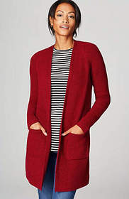 Textured Easy Cardi