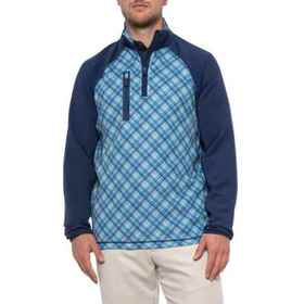 Bobby Jones XH2O Printed Pullover Shirt - Zip Neck
