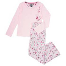 Laura Ashley® Long Sleeve Bouquet of Hearts Knit P