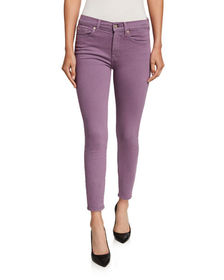 7 For All Mankind Ankle Gwenevere Squiggle-Pocket