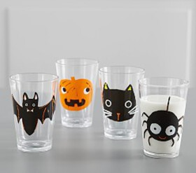 Pottery Barn Halloween Tumblers