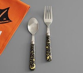 Pottery Barn Halloween Utensils