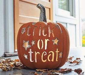 Pottery Barn Trick or Treat Luminary