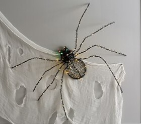 Pottery Barn Giant Light Up Spider