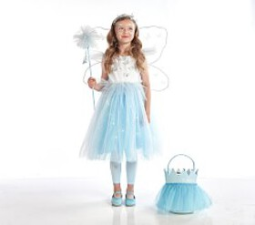 Pottery Barn Light Up Blue Butterfly Magical Fairy