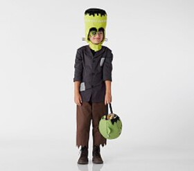 Pottery Barn Glow-in-the-Dark Frankenstein Costume