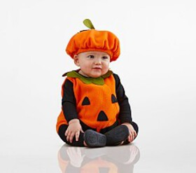 Pottery Barn Baby Pumpkin Costume