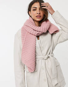 Urbancode Infinity scarf In Pink
