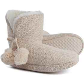 Comfy by Daniel Green Cream Ariah Slippers (For Wo