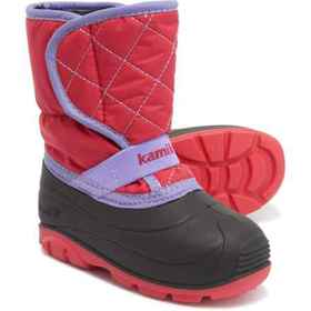 Kamik Pika2 Pac Boots - Waterproof (For Toddler Gi