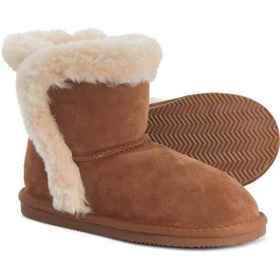 LAMO Footwear Taylor Shearling Boots - Suede (For