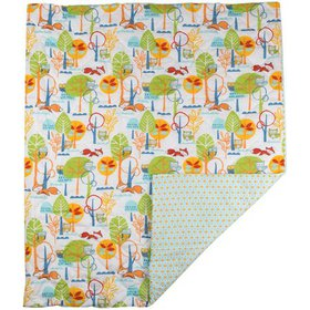 Poppi Living Forest Premium Cotton Quilted Nursery