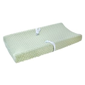 Carter's Changing Pad Cover Plush Velboa Bubble Do