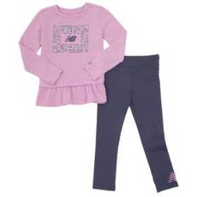 Girls (4-6x) New Balance 2pc. Love To Play Top & L