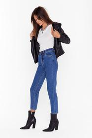 Nasty Gal Blue Mom Would Approve High-Waisted Deni