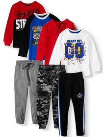 365 Kids from Garanimals Kid-Pack 7-Piece Outfit S