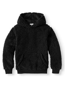 Bocini Kanga Pocket Sherpa Hoodie (Little Boys & B