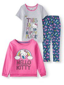 Hello Kitty Graphic Sweatshirt, Tee and Printed Le