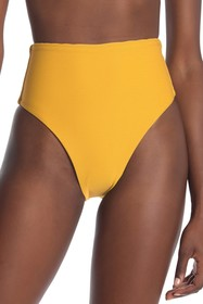 Vitamin A Lupe Ribbed High Waist Bikini Bottoms