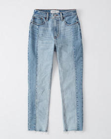 High Rise Mom Jeans, LIGHT WASH