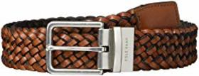 Cole Haan 35 mm Reversible Braid Leather to Nylon