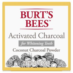 Burt's Bees Activated Coconut Charcoal Powder for
