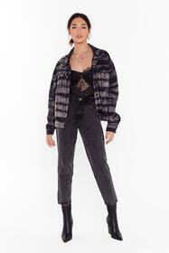 Nasty Gal Black That Doesn't Wash With Us Denim Mo