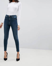ASOS DESIGN Ridley high waisted skinny jeans in ag