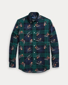 Polo Ralph Lauren Classic Fit Plaid Bear Shirt