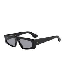 Dior DiorPower Rectangle Acetate Sunglasses