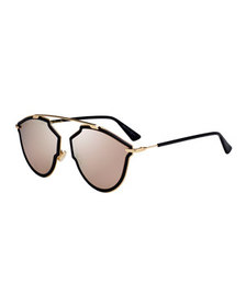 Dior So Real Riss Mirrored Sunglasses