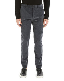 Theory Men's Zaine Dolsk Stretch-Twill Pants