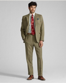 RRL Olive Twill Suit