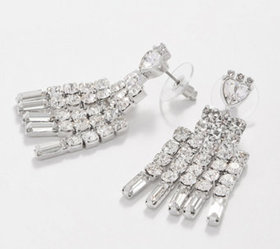"""""""As Is"""" Grace Kelly Collection 'CAT' Crystal Earri"""