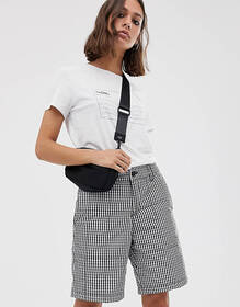 M.C. Overalls quilted shorts