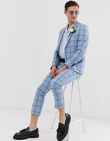 Twisted Tailor super skinny wedding suit in check
